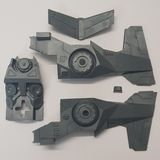 Space Marines Interceptor Chassis Section